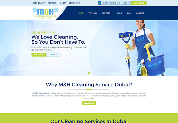 M & H Cleaning Service