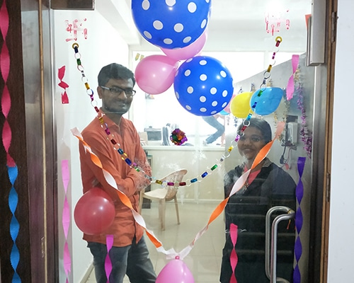 New Office Celebrated
